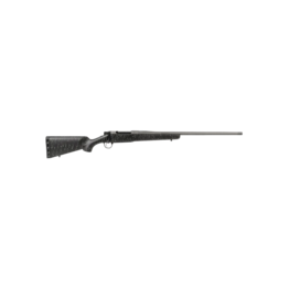 "Christensen Arms CHRISTENSEN ARMS MESA RIFLE, #10280-314311, 7MM REM MAGNUM, 24"", BLACK WITH GRAY WEBBING, S/S BARREL, CARBON FIBER STOCK"
