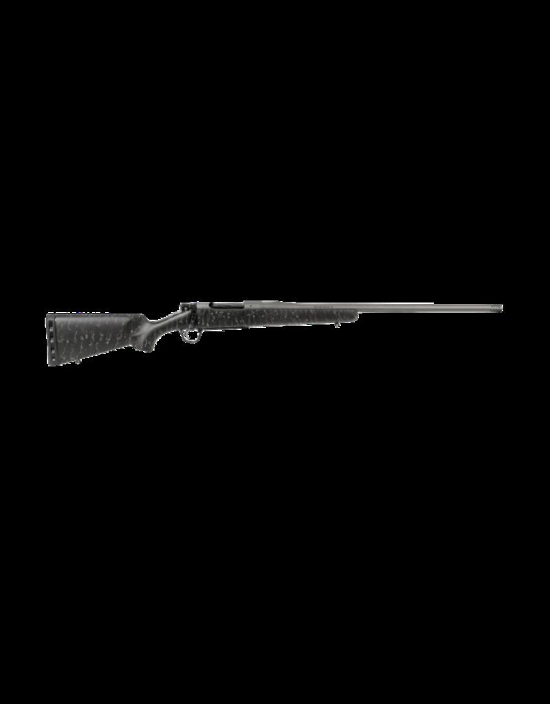 "Christensen Arms CHRISTENSEN ARMS MESA RIFLE, #10280-314311, 7MM REM MAGNUM, 24"", BLACK WITH GRAY WEBBING, S/S BARREL, CARBON FIBER STOCK"