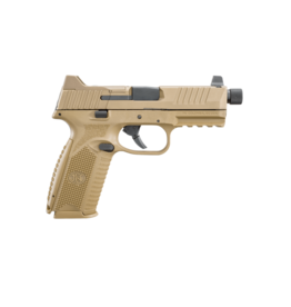 FNH FNH FN 509 TACTICAL, #66-100373, 9MM, NMS, FDE, NIGHT SIGHTS, 1 - 17RD / 2 - 24RD MAGAZINES
