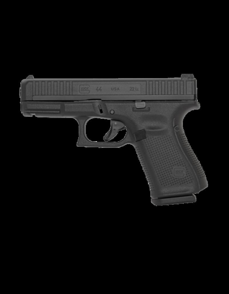 Glock GLOCK 44, #UA4450100, .22LR, 5.5LB, ADJ SIGHTS, BLACK