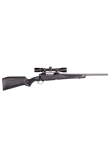 "Savage Savage 110 Apex Hunter XP, # 57305, Bolt Action, 7MM-08 Remington, 20"" Barrel, Black Finish, Synthetic Stock, 4Rd, Accutrigger, Detachable Box Magazine, 3-9x40 Vortex Crossfire II, Right Hand"