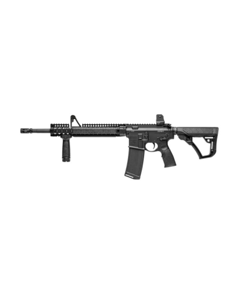 DANIEL DEFENSE DANIEL DEFENSE DDM4V1, #02-050-15027, .223 / 5.56, QUAD RAIL, CARBINE LENGTH, REMOVABLE FIXED SIGHTS