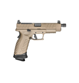 "Springfield Armory SPRINGFIELD XDM ELITE, #XDMET9459FHCOSP, 9MM, 4.5"" FDE THREADED OSP W/ 3 SIGHT BASES (W/2 MAGAZINES)"