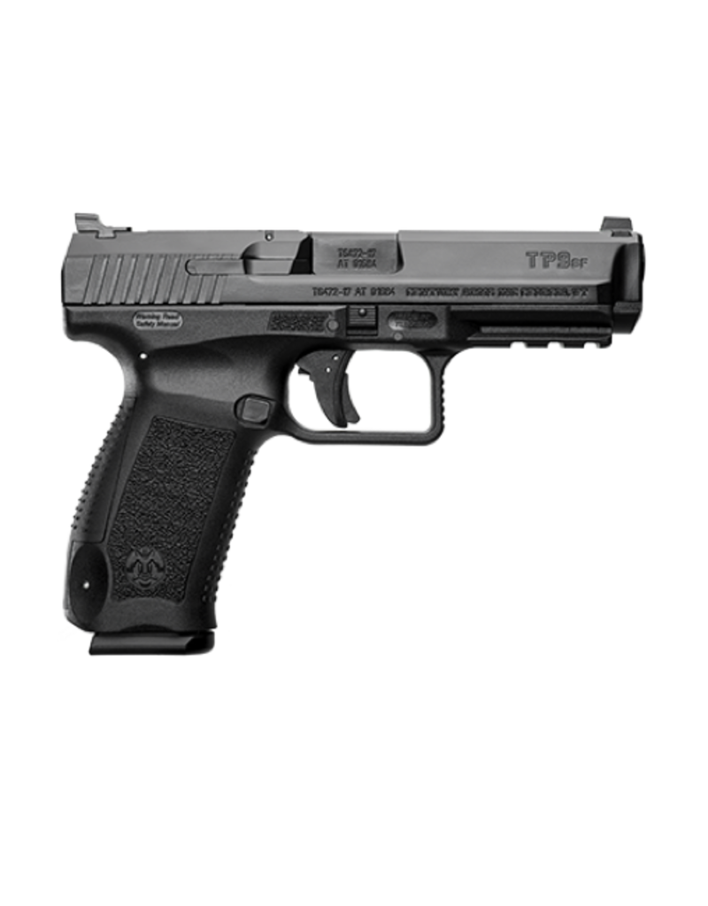Century Arms CENTURY ARMS CANIK TP9SF PISTOL, #HG4070-N, 9MM, BLACK, WARREN SIGHTS, 2-18RD MAGS
