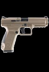 Century Arms CENTURY ARMS CANIK TP9SF PISTOL, #HG4070D-N, 9MM, DESERT TAN, WARREN SIGHTS, 2-18RD MAGS