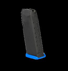 Glock GLOCK 19 MAGAZINE, 9MM, BLUE FLOOR PLATE, 15 RDS