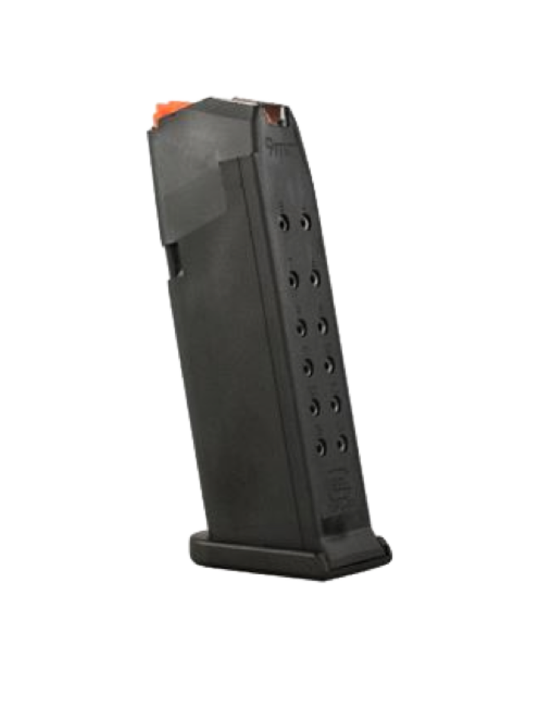 Glock GLOCK 19 GEN 5 MAGAZINE, 9MM, 15 RDS, ORANGE FOLLOWER