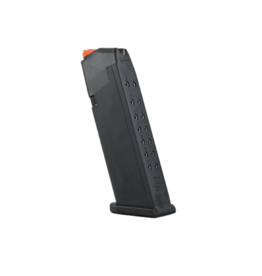 Glock GLOCK 17 GEN 5 MAGAZINE, 9MM, 17 RDS, ORANGE FOLLOWER