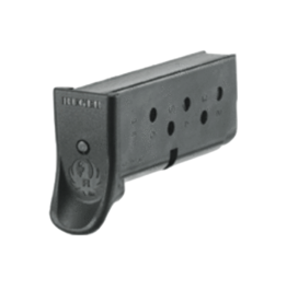 Ruger RUGER MAGAZINE, LCP, 90333, 380ACP, 6 RD, BLUE, FINGER EXT.