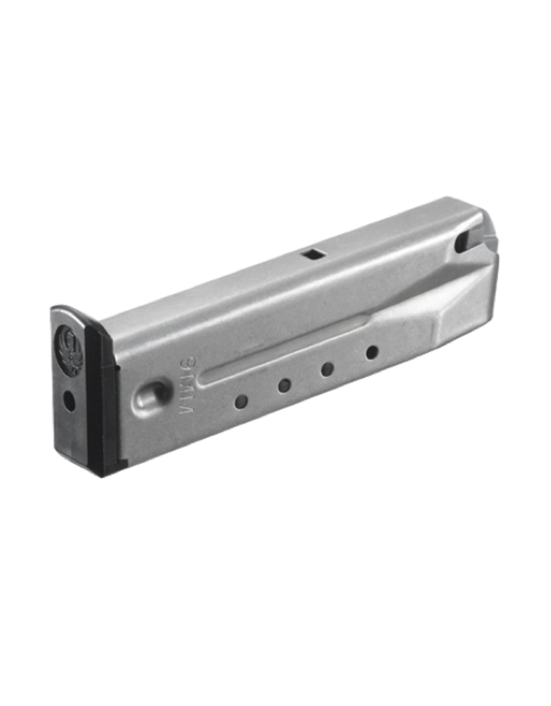 Ruger RUGER MAGAZINE, P89/93/94/95/PC9, 9MM, 15 RD, S/S, #90233