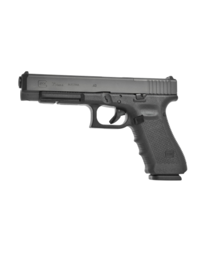 Glock GLOCK 35 GEN 4 MOS, #PG3530102MOS, 40 S&W, 4.5LB TRIGGER