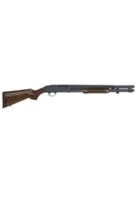 "Mossberg/Maverick MOSSBERG 590 RETROGRADE, #52150, 12GA, 20"", 9 SHOT, HEAT SHIELD, WALNUT"