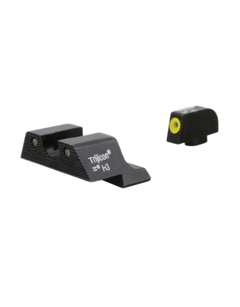 Trijicon TRIJICON HD XR NIGHT SIGHTS, YELLOW FRONT, GLOCK 01