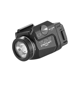 Streamlight STREAMLIGHT TLR-7, #69420, COMPACT LED LIGHT, 500 LUMENS, CR123 BATTERY, BLACK