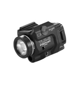 Streamlight STREAMLIGHT TLR-8, #69410, COMPACT LED LIGHT AND LASER, 500 LUMENS, CR123 BATTERY, BLACK
