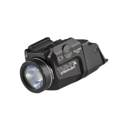 Streamlight STREAMLIGHT TLR-7A FLEX, #69424, COMPACT LED LIGHT, 500 LUMENS, CR123 BATTERY, BLACK, HIGH AND LOW SWITCH