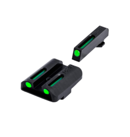 TruGlo TRUGLO TFO SIGHTS, GLOCK 42/43, #TG131GT1A, TRITIUM/FIBER OPTIC SIGHT, GREEN
