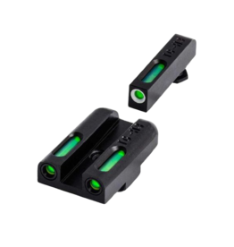 TruGlo TRUGLO TFX SIGHTS, GLOCK 42/43, #TG13GL3A, TRITIUM/FIBER OPTIC SIGHT, GREEN, FOCUS LOCK RING