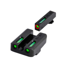 TruGlo TRUGLO TFX PRO SIGHTS, SIG #6/#8, #TG13SG2PC, TRITIUM/FIBER OPTIC SIGHT, GREEN, ORANGE FOCUS LOCK RING