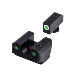 TruGlo TRUGLO TRITIUM PRO SIGHTS, GLOCK 42/43, #TG231G1AW, TRITIUM SIGHT, WHITE FOCUS LOCK RING