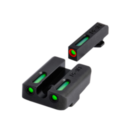 TruGlo TRUGLO TFX PRO SIGHTS, GLOCK 21, #TG13GL2PC, TRITIUM/FIBER OPTIC SIGHT, GREEN, ORANGE FOCUS LOCK RING