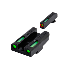 TruGlo TRUGLO TFX PRO SIGHTS, GLOCK 42/43, #TG13GL3PC, TRITIUM/FIBER OPTIC SIGHT, GREEN, ORANGE FOCUS LOCK RING