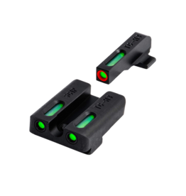 TruGlo TRUGLO TFX PRO SIGHTS, SIG #8/#8, #TG13SG1PC, TRITIUM/FIBER OPTIC SIGHT, GREEN, ORANGE FOCUS LOCK RING