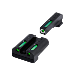 TruGlo TRUGLO TFX SIGHTS, SIG #8/#8, TRITIUM/FIBER OPTIC SIGHT, GREEN