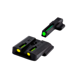 TruGlo TRUGLO TFO SIGHT, S&W M&P, #TG131MPTY, TRITIUM/FIBER OPTIC SIGHT, GREEN/YELLOW