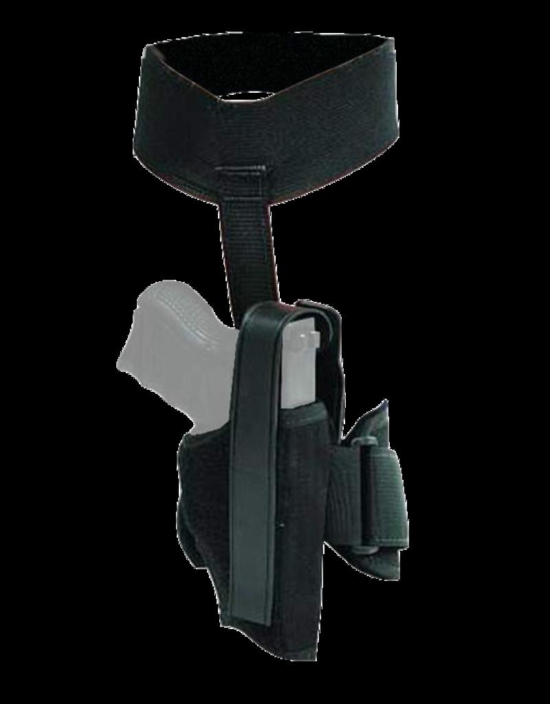 Blackhawk BLACKHAWK ANKLE HOLSTER, 40AH12BK-R, SIZE 12 (GLOCK 26), NYLON, RH