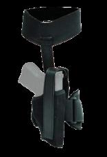 Blackhawk BLACKHAWK ANKLE HOLSTER, 40AH10BK-R, SIZE 10 (SMALL AUTO), NYLON, RH