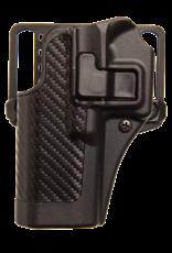 Blackhawk BLACKHAWK SERPA HOLSTER, 410025BK-L, S&W M&P 9/40, SIZE 25, CARBON FIBER, LH