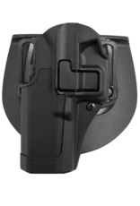 Blackhawk BLACKHAWK SERPA HOLSTER, 410500BK-L, GLOCK 17/22/31, SIZE 00, MATTE, LH