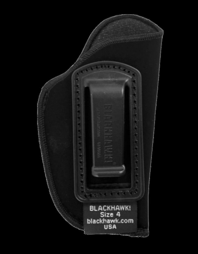Blackhawk BLACKHAWK INSIDE THE PANTS HOLSTER, 73IP04BK-R, SIZE 04 (SMALL .22 AUTOS), NYLON, RH