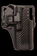 Blackhawk BLACKHAWK SERPA HOLSTER, 410006BK-R, SIG 220/225/226, SIZE 06, CARBON FIBER, RH