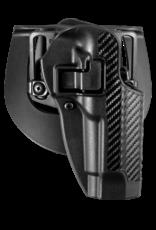 Blackhawk BLACKHAWK SERPA HOLSTER, 410004BK-R, BERETTA 92/96, SIZE 04, CARBON FIBER, RH