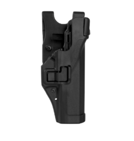 Blackhawk BLACKHAWK LEVEL 3 DUTY SERPA HOLSTER, GLOCK 17/19, SIZE 00, MATTE, RH