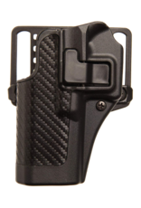Blackhawk BLACKHAWK SERPA HOLSTER, 410001BK-L, GLOCK 26/27/33, SIZE 01, CARBON FIBER, LH