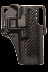 Blackhawk BLACKHAWK SERPA HOLSTER, 410013BK-R, GLOCK 20/21/37, SIZE 13, CARBON FIBER, RH