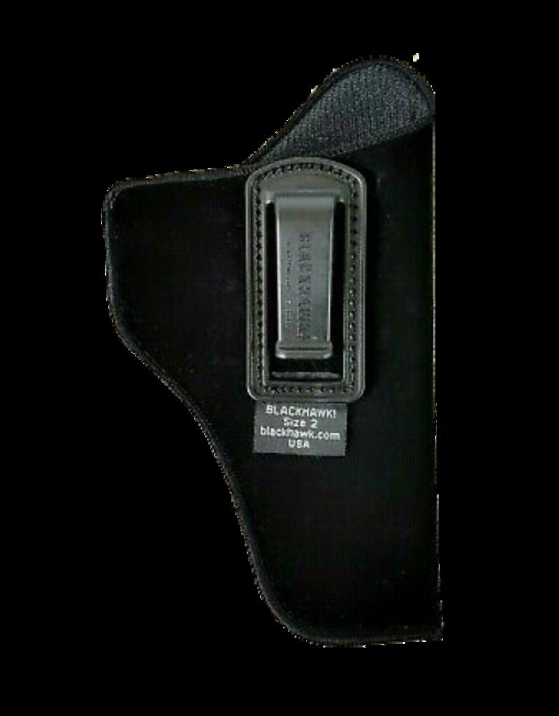 Blackhawk BLACKHAWK INSIDE THE PANTS HOLSTER, 73IP02BK-R, SIZE 02, NYLON, RH