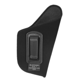 "Blackhawk BLACKHAWK INSIDE THE PANTS HOLSTER, 73IP07BK-R, SIZE 07 (3.25-3.75""), NYLON, RH"