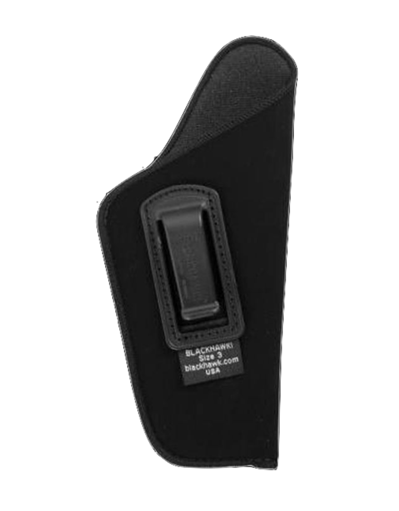"Blackhawk BLACKHAWK INSIDE THE PANTS HOLSTER, 73IP03BK-R, SIZE 03 (4.5-5""), NYLON, RH"