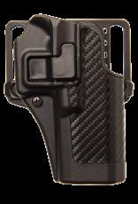 Blackhawk BLACKHAWK SERPA HOLSTER, 410030BK-R, GLOCK 29/30/39, SIZE 30, CARBON FIBER, RH