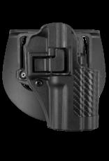Blackhawk BLACKHAWK SERPA HOLSTER, 410007BK-R, 410007BK-RSPRINGFIELD XD COMP, SIZE 07, CARBON FIBER, RH