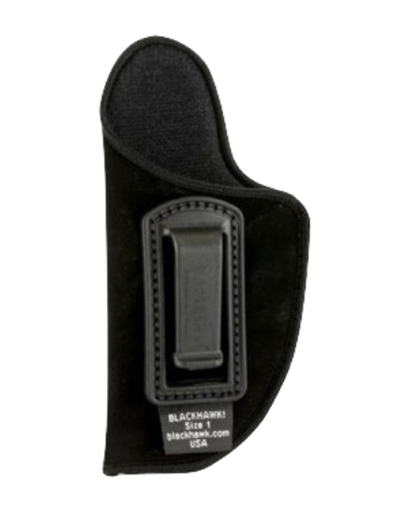 "Blackhawk BLACKHAWK INSIDE THE PANTS HOLSTER, 73IP01BK-L, SIZE 01 (3-4""), NYLON, LH"
