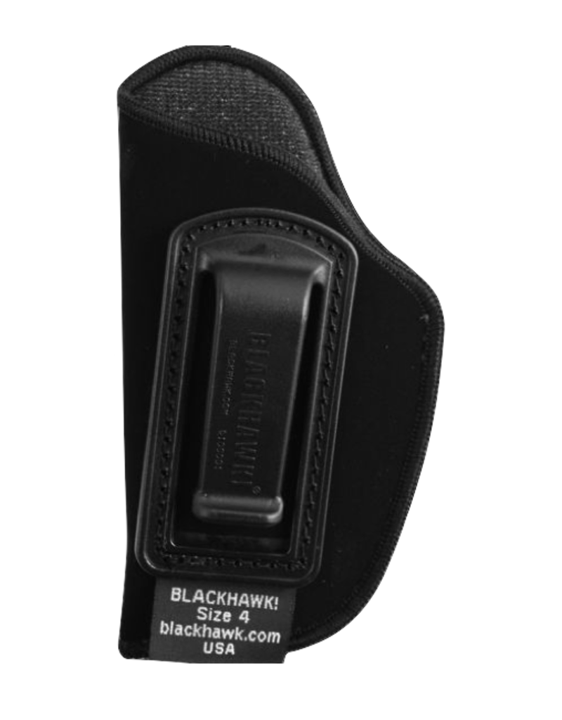 Blackhawk BLACKHAWK INSIDE THE PANTS HOLSTER, 73IP04BK-L, SIZE 04 (SMALL .22 AUTOS), NYLON, LH