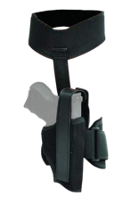 "Blackhawk BLACKHAWK ANKLE HOLSTER, 40AH00BK-R, SIZE 00 (2"" REV.), NYLON, RH"