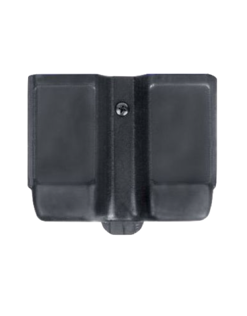 Blackhawk BLACKHAWK DOUBLE ROW MAGAZINE HOLSTER, 410610PBK,  DOUBLE STACK, MATTE