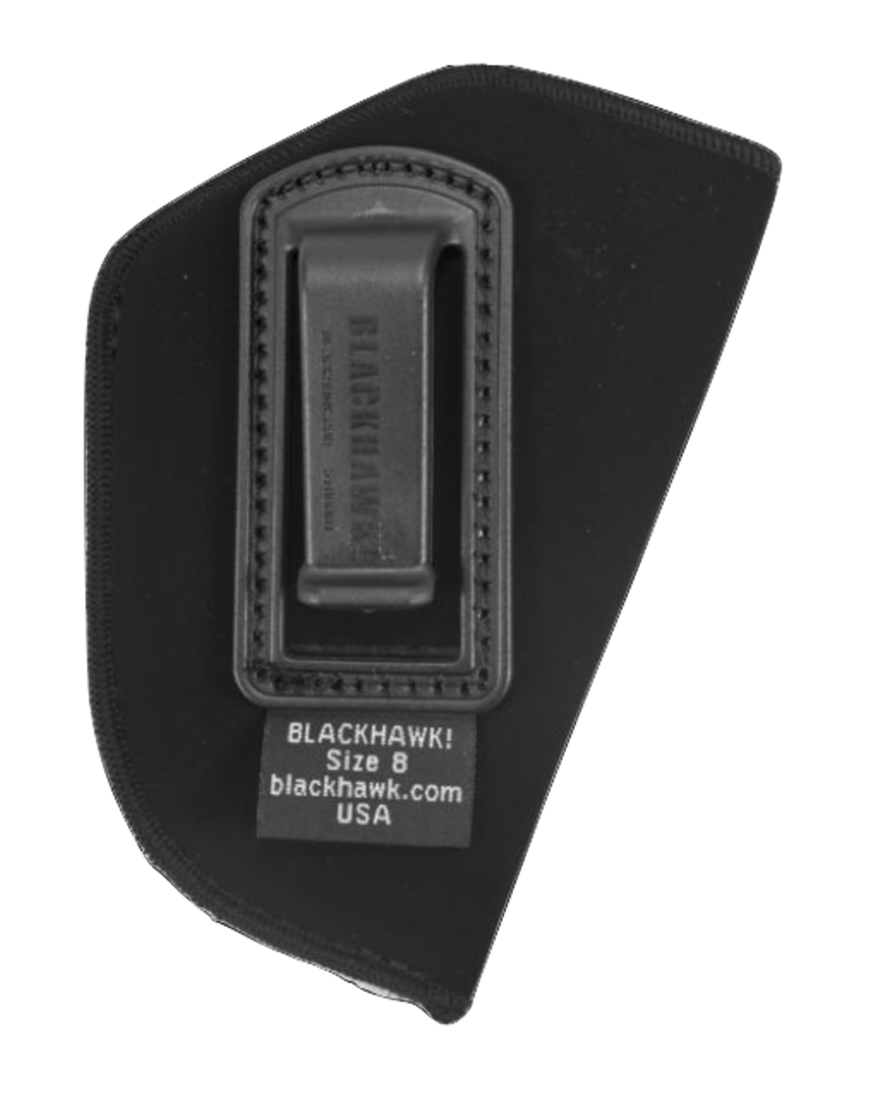 "Blackhawk BLACKHAWK INSIDE THE PANTS HOLSTER, 73IP08BK-R, SIZE 08 (2"" REV.), NYLON, RH"