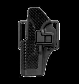 Blackhawk BLACKHAWK SERPA HOLSTER, 410013BK-L, GLOCK 20/21/37, SIZE 13, CARBON FIBER, LH